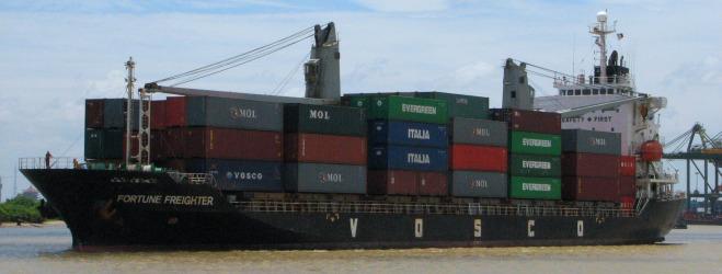 Vận tải bằng tàu container