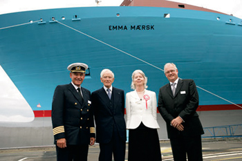 Emma Maersk The Largest Container Ship In The World