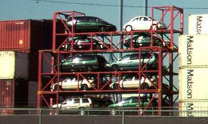 Automobile container