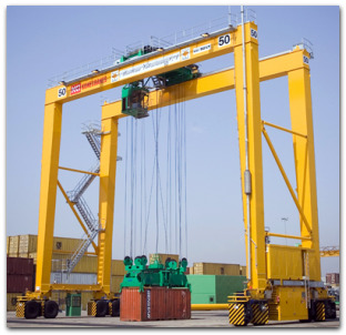 Container Stacking Crane