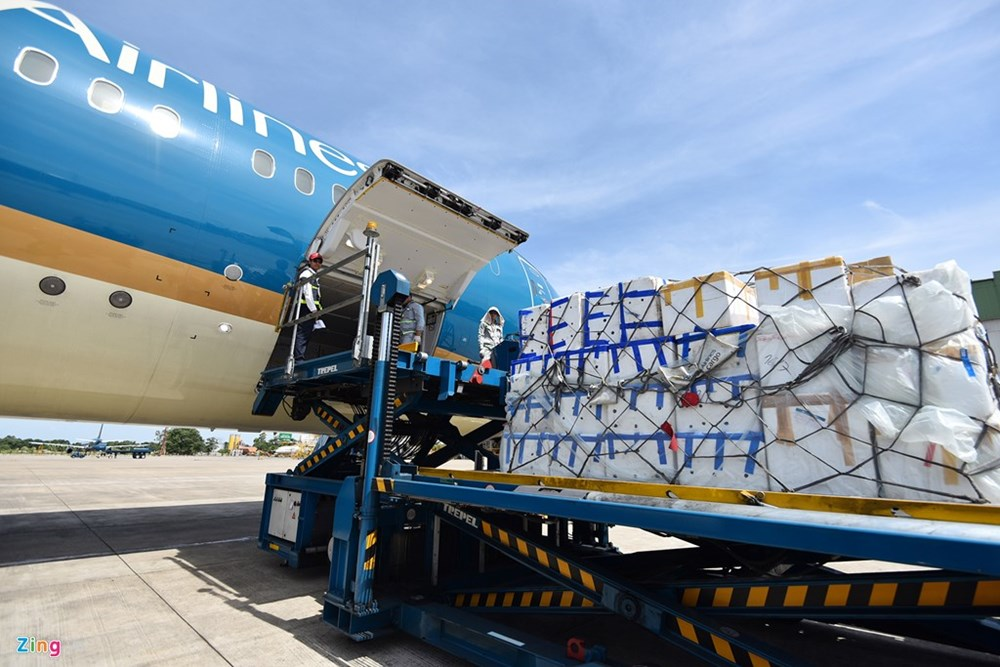 Hàng hóa hàng không tại Nội Bài