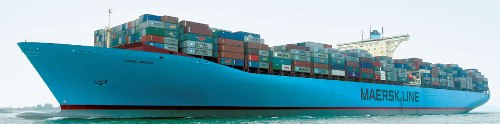 Emma Maersk - The largest container ship in the world