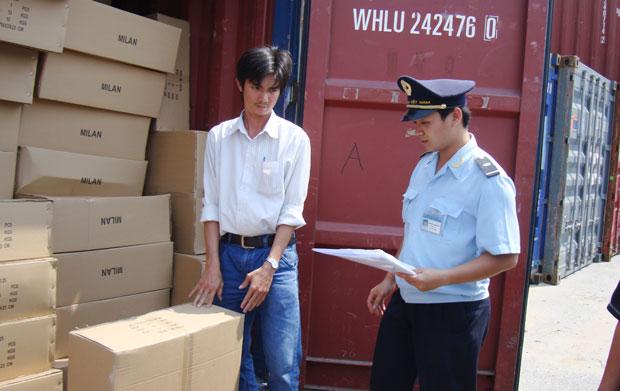 Kiểm hóa hàng nhập khẩu
