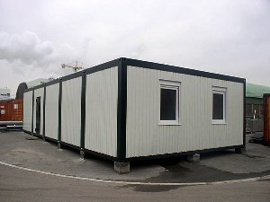 Outside Office Container