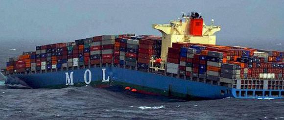 Tai nạn tàu container
