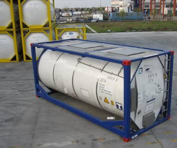 Tank container, phân loại container, container khí hóa lỏng