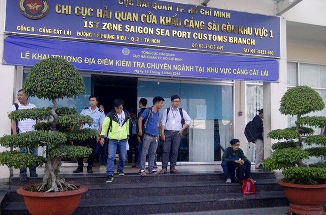 Chi cục Hải quan cửa khẩu cảng Sài Gòn khu vực 1