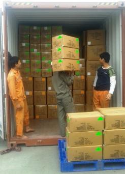 Đóng hàng LCL vào container