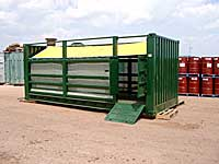 Livestock container