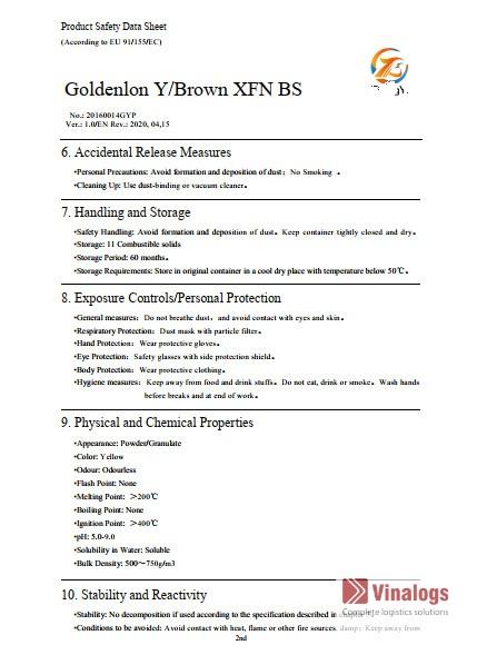 MSDS là gì - trang 2?
