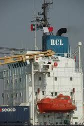 Regional Container Lines vessel