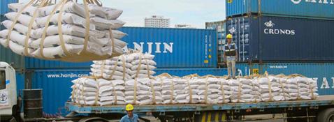 Thức ăn chăn nuôi nhập khẩu về cảng